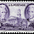 Tennessee Stamp — Stock Photo