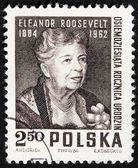 Eleanor Roosevelt Stamp — Stock Photo