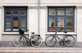 Two Bicycles — Stock Photo