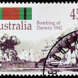Stock Photo: Darwin 1942 Stamp