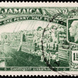 Jamaica World War I Stamp — Stock Photo