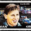 Bruce McLaren Stamp — Stock Photo #37085999