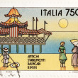 Rimini Stamp — Stock Photo