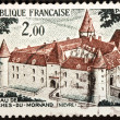 Chateau de Bazoches-Du-Morvand — Stock Photo