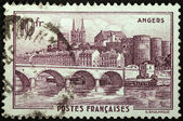 Angers Stamp — Stock Photo
