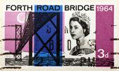 Forth Road Bridge — Stock Photo