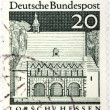 Stock Photo: Lorsch Stamp