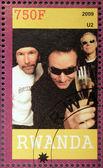 U2 Stamp — Стоковое фото