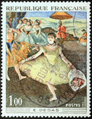Degas Stamp — Stock Photo