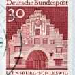 Flensburg Stamp — Stock Photo