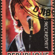 Stock Photo: Paul McCartney Stamp