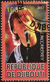 Paul McCartney Stamp — Stock Photo