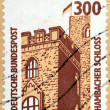 Stock Photo: Hambach Castle Stamp