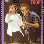 Постер, плакат: Rolling Stones Stamp
