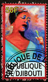 Ella Fitzgerald Stamp — Stock Photo