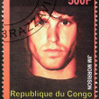 Jim Morrison Stamp — Stock Photo