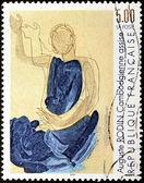 Rodin Stamp — Stock Photo