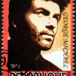Постер, плакат: George Michael Stamp