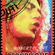 Stock Photo: Robert Plant Stamp