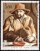 Peasant Stamp — Stock Photo