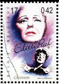 Edith Piaf — Fotografia Stock