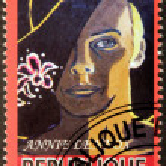Постер, плакат: Annie Lennox Stamp