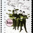 Stock Photo: Beatles Stamp