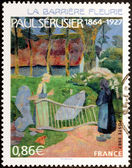 Paul Serusier Stamp — Stock Photo