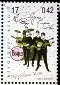 Beatles Stamp — Stock Photo