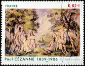 Cezanne Stamp — Stock Photo