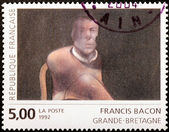 Francis Bacon Stamp — Stock Photo