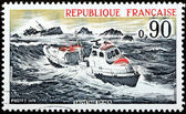 Sea Rescue Stamp — Stock Photo