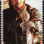 Постер, плакат: Aragorn Stamp