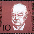 Stock Photo: Churchill Stamp