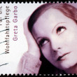 Stock Photo: Greta Garbo Stamp