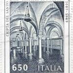 Bari Stamp — Stock Photo