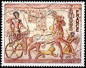 Fresco Abu-Simbel — Foto de Stock