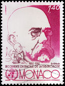 Robert Koch Stamp — Stock Photo