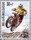 Motocross damgası — Stok fotoğraf