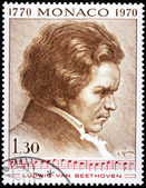 Beethoven Stamp — Stock Photo