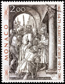 Albrecht Durer Stamp — Stock Photo