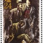 Sherlock Holmes Stamp 2 — Stock Photo