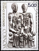Giorgio de Chirico Stamp — Stock Photo