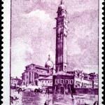 Постер, плакат: Venice Stamp