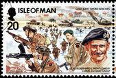 Montgomery Stamp — Stock Photo