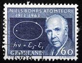 Niels Bohr Stamp — Foto de Stock