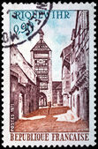 Riquewihr Stamp — Stock Photo