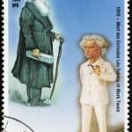 Постер, плакат: Mark Twain and Leo Tolstoy