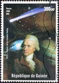 Halley's Comet Stamp — Stock Photo