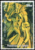 Duchamp Stamp — Stockfoto